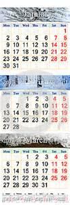 Calendario 2017 Enero Y Febrero Calendario Para Enero Febrero Y Marzo De 2017 Con Las