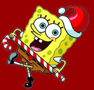 cbs gain rights to spongebob christmas special