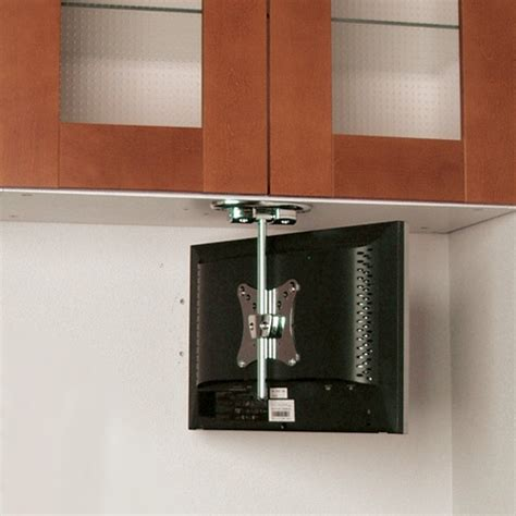 under kitchen cabinet tv mount pin by wall mountsplus on under cabinet tv mount pinterest
