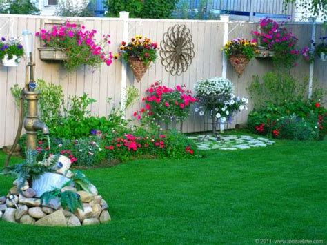 backyard wall decorating ideas jardin archives astuces bricolage