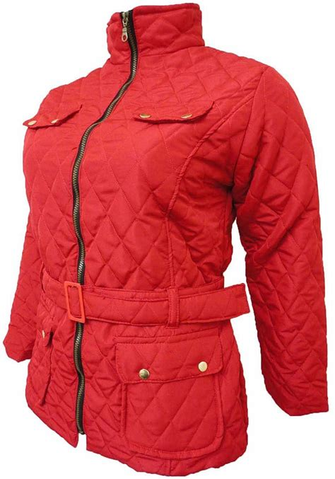 Pocket Parka Wd Var Outerwear Wanita womens collar size padded plus jacket coat belted winter