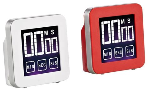 Polder Traffic Light Kitchen Timer Cook N Home Cook N Home Touch Screen Digital Kitchen Timer And White 2 Pack View In
