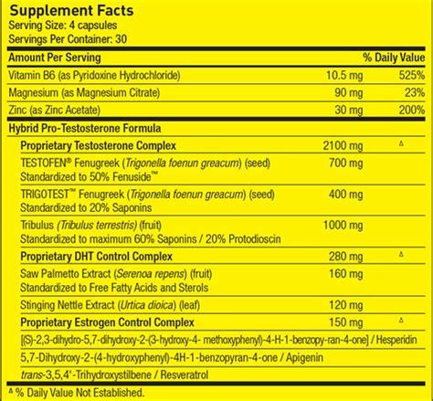 m test supplement test freak review