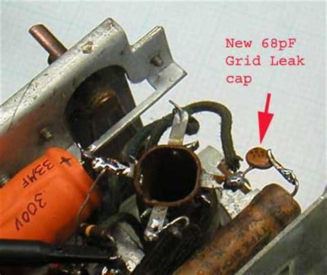what is grid leak resistor emerson grid leak cord resistor reed speaker