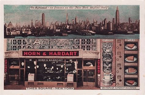 Auto Mat by How America Ate Horn And Hardart S Automats Serious Eats