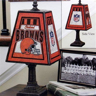 cleveland browns home decor cleveland browns art glass table l home decor that i