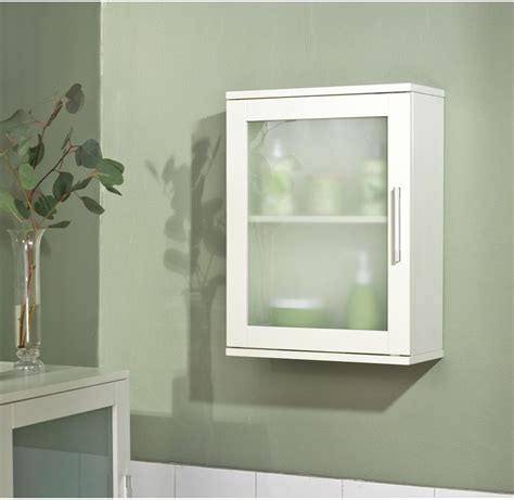White Wall Cabinet Bathroom New Apothecary Style Medicine Wall Cabinet Bathroom Bath Furniture Antique White Ebay