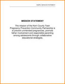 how to write a personal mission statement exles