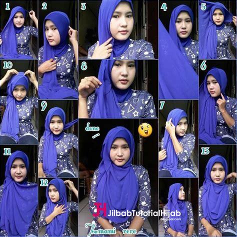 tutorial hijab yang menutupi dada tutorial model hijab menutupi bagian dada jilbab