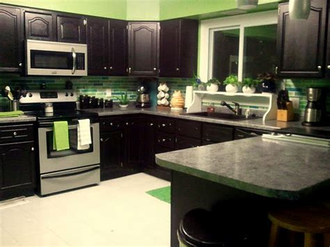 lime green kitchen cabinets lime green and black kitchen for the home pinterest