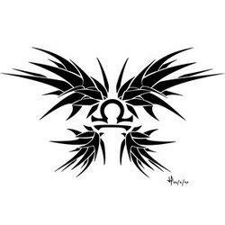 gambar tato bintang libra tattoo zodiak libra album 1 gambar seni tattoo