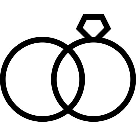 wedding ring icon with png and vector format for free unlimited download pngtree