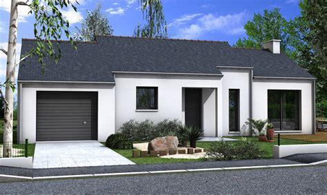 Facade De Maison by Maison 3 Chambres D 233 Croch 233 De Fa 231 Ade Lign 233 Depreux