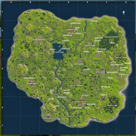 fortnite near me i made a map of fortnite br with added callouts that me