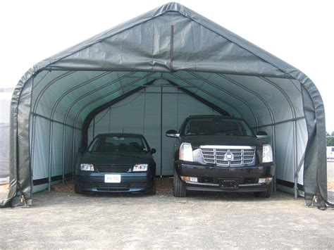 Portable Garage Shelter Garages Portable Garages Ideas Portable Garage