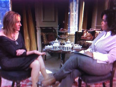 oprah winfrey jk rowling interview jk rowling was oprah s last interview on her show what