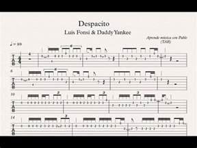 Chord Despacito Despacito Tab Guitarra Tablatura Con Playback