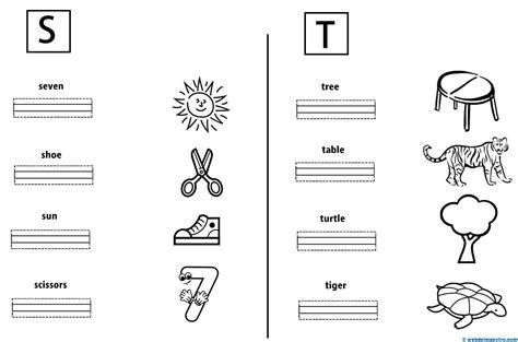 imagenes en ingles que empiecen con n vocabulario en ingl 233 s para ni 241 os web del maestro