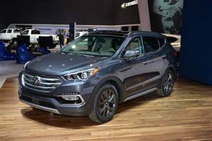 Picture Of Hyundai Santa Fe 2017 Hyundai Santa Fe Santa Fe Sport Review Look