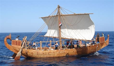 ancient boats min of the desert the ship reconstructed after the