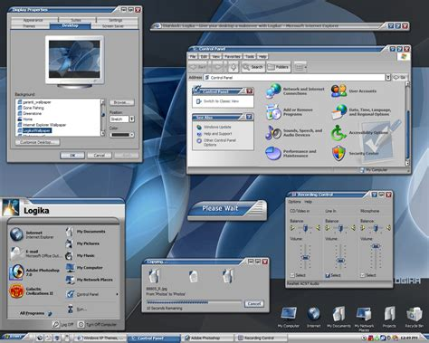 windowblinds theme windows interface stardock logika screenshots