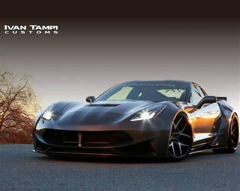 Corvette C7 Grand Sport Tieferlegung by Irre Geil Corvette Stingray Widebody By Ivan Ti