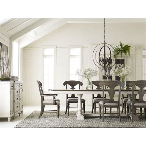 legacy dining table legacy classic brookhaven trestle table with 2 leaves
