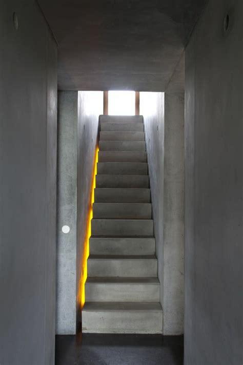 grau treppe design - Beleuchtung Außentreppe