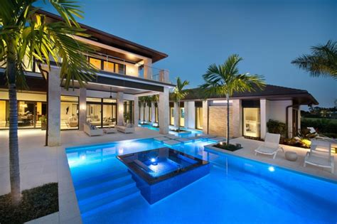 nice high end modern glass house exterior designs that can prestigieuse maison de vacances en floride vivons maison
