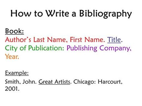 How To Make A Bibliography For A Research Paper - a guide to preparing note cards and bibliography cards