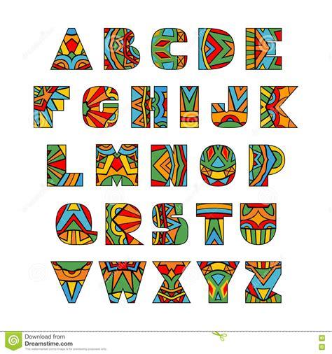 lettere decorate lettere decorate illustrazione vettoriale immagine 71726963