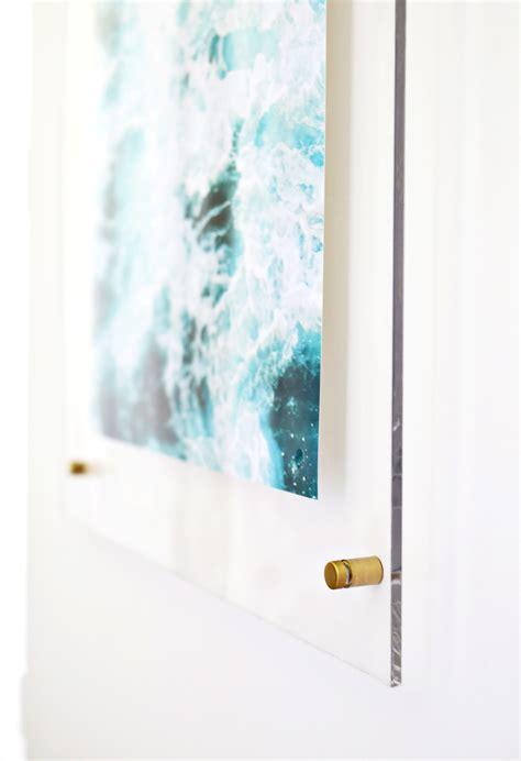 Acrylic Frame floating acrylic frame diy a beautiful mess