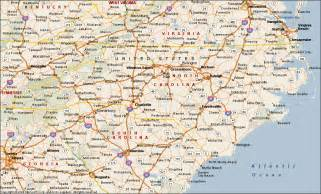 where is carolina on map carolina map