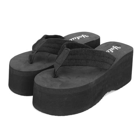 Wedge Flip Flops s high heels flip flops slippers wedge platform