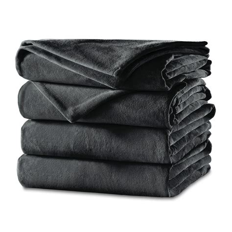Where To Buy Heated Blankets by Sunbeam 174 Velvet Plush Heated Blanket