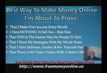 Make Money Online Free No Scams No Surveys - get money with trusted survey