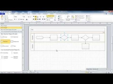 visio swimlane tutorial 38 best ms visio tips and ideas images on