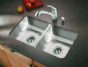 bowl mount kitchen sink counter