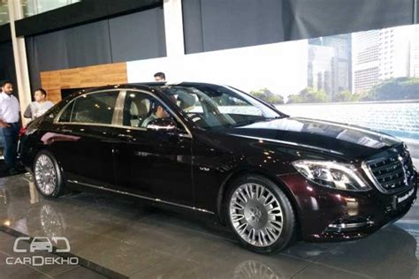 mercedes launches maybach s600 priced at rs 2 6
