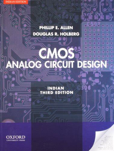 analog integrated circuit design allen design of analog cmos integrated circuits india edition by behzad razavi