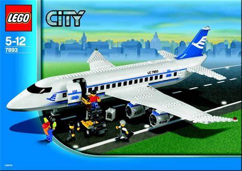 lego airport tutorial city lego passenger plane instructions 7893 city