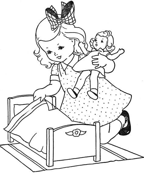how to make coloring pages from photos doll coloring pages coloringsuite com