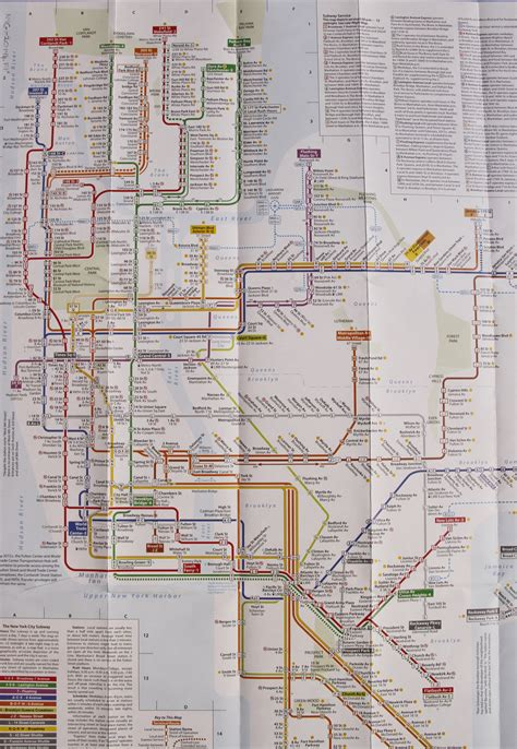 map subway new york city new to the library collection tauranac new york city