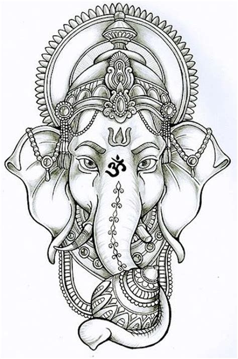 ganesh elephant tattoo designs 25 best ideas about ganesha tattoo on pinterest ganesha