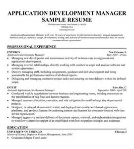 Application Development Manager by Applications Manager Resume Sle Birthdayessay X Fc2