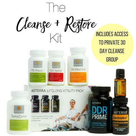 How Do I Ask For A Detox Kit At Headsop by The Doterra Essential 30 Day Cleanse