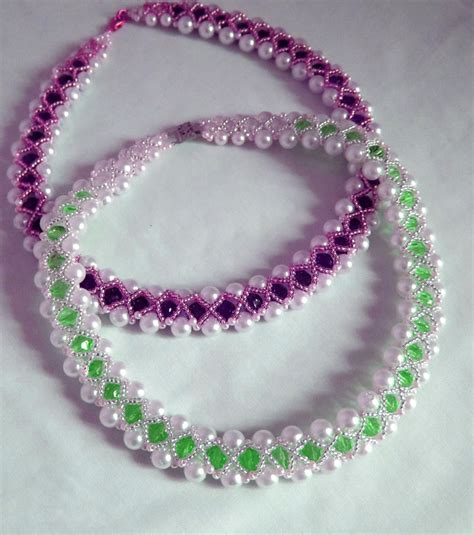 beaded bracelet patterns free pattern for beutiful beaded necklace magic