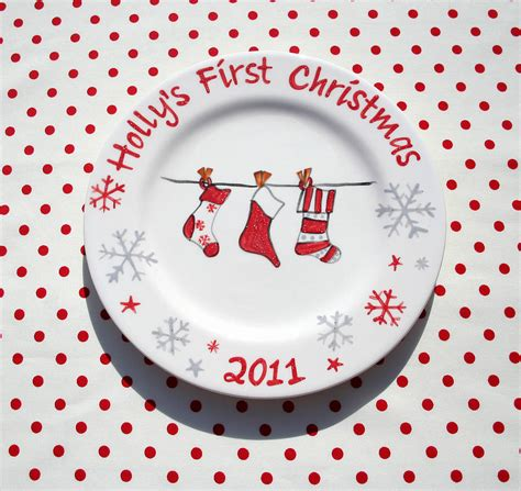 ideas for christmas plate designs personalised plate by sparkle ceramics notonthehighstreet