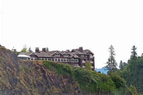Salish Lodge Gift Card - salish lodge and spa photograph by gerald mitchell