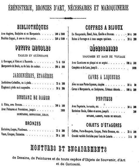 Petit Meuble Entree 1866 by Des Tahan 224